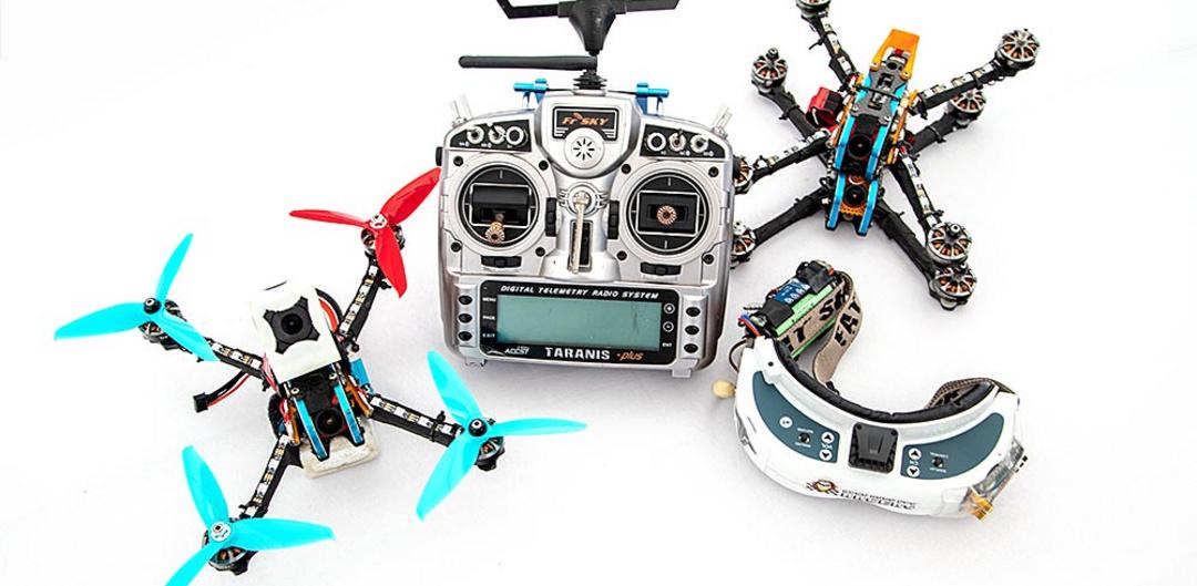 Что нужно начинающему дрон-рейсеру