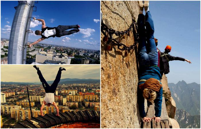 17 фотографий, которые людям со страхом высоты лучше не смотреть