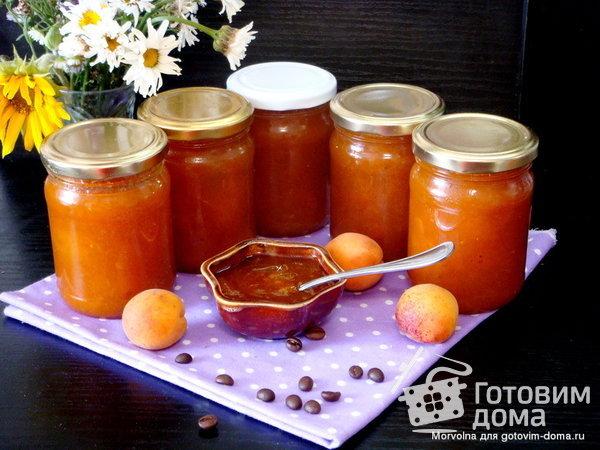 """Варенье """"Кофейный абрикос с ванилью"""" фото к рецепту 2"""