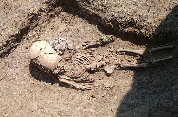 Под Керчью нашли «могилу инопланетянина»