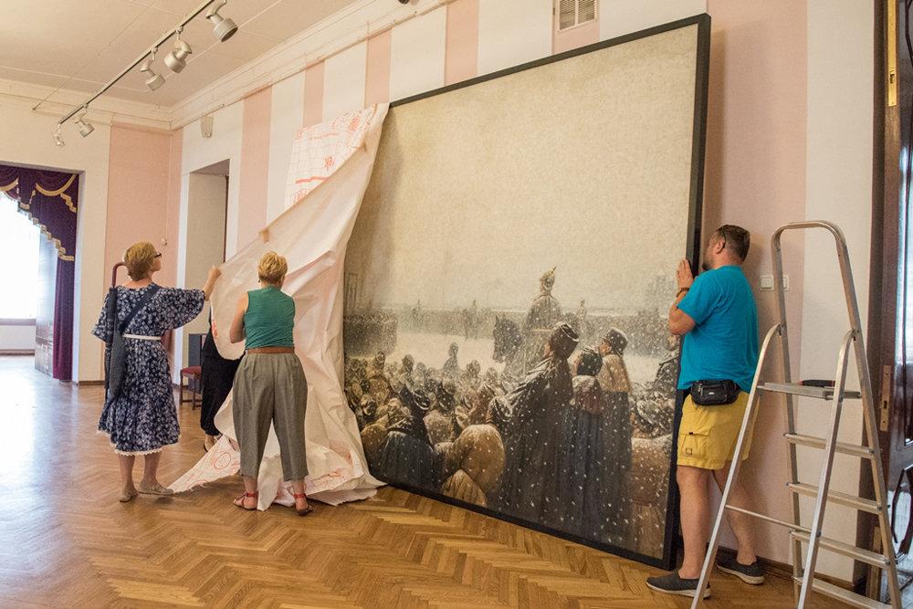 В Петербурге открылась выставка одной картины Верещагина