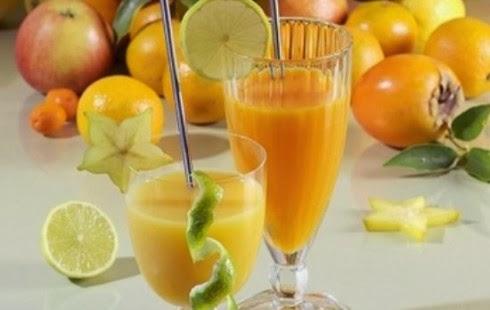 Перемешайте с апельсиновым с…
