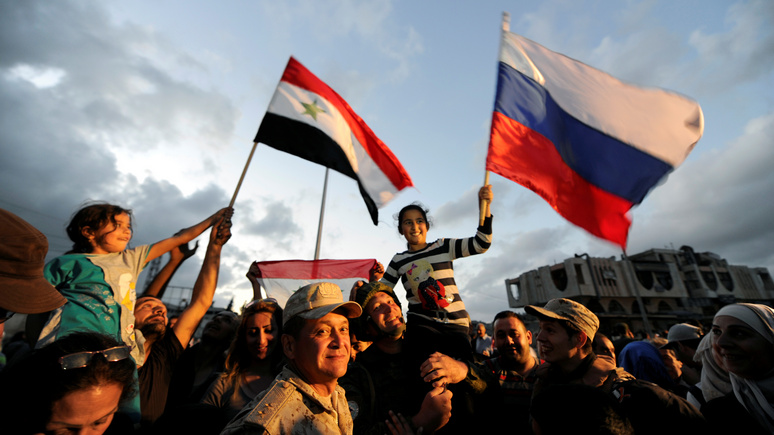 Уничтожая западную диктатуру: Россия продолжает добиваться мира в Сирии