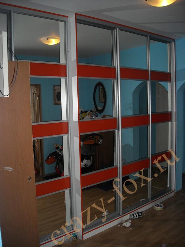 Шкафы-купе на заказ, встроенная мебель, изготовление мебели на заказ.