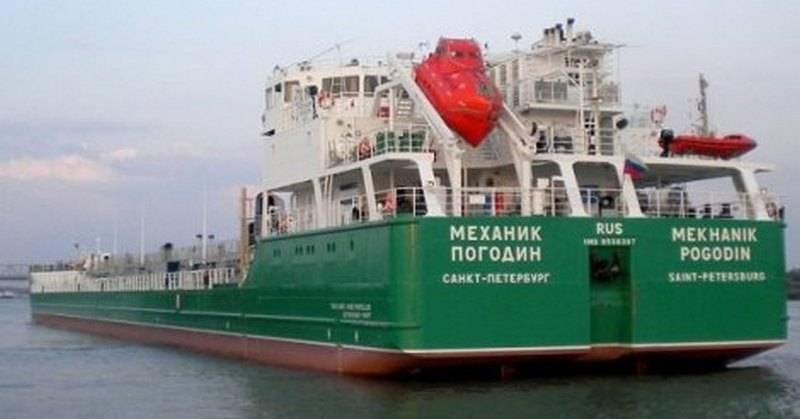 Украина заблокировала танкер…