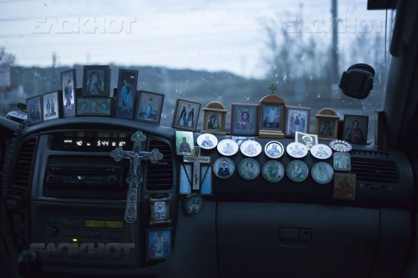 Скандал в воронежской маршрутке: пассажирку возмутило отсутствие икон