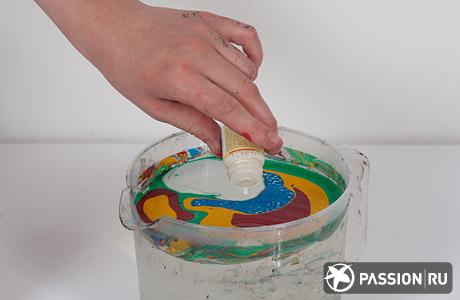 Краска для марморирования своими руками