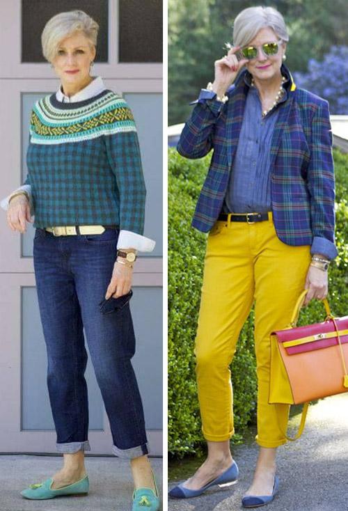 Модница после 50 лет