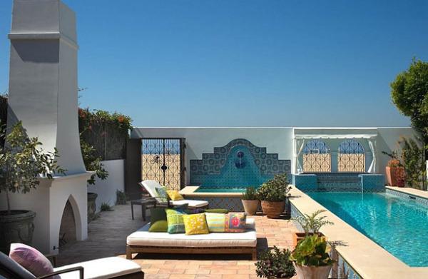Зоны отдыха в марокканском стиле