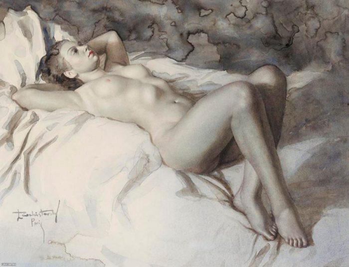 художник Лев Чистовский (Lev Tchistovsky) картины - 11
