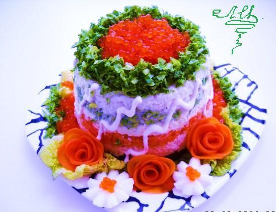 Салат к празднику