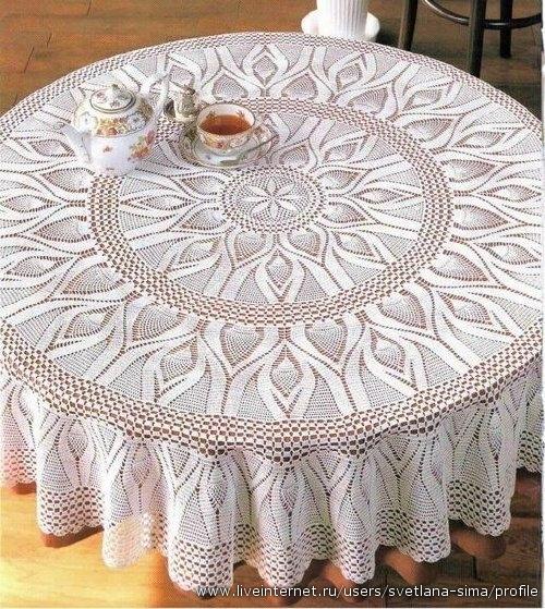 Вязание салфетки своими руками