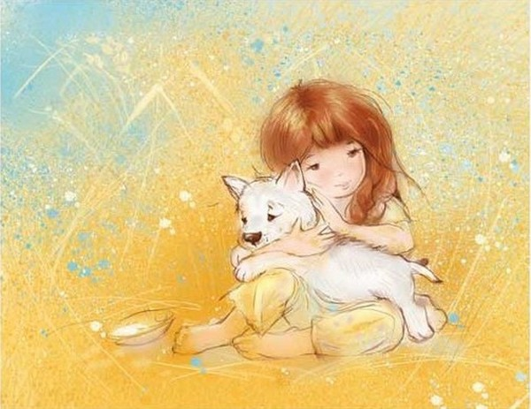 Нежный мир Детства Екатерина Бабок, детство, рисунки