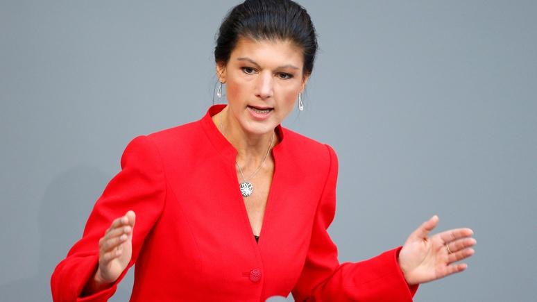 Новое интервью Сары Вагенкнехт о России наделало шуму в немецком Интернете