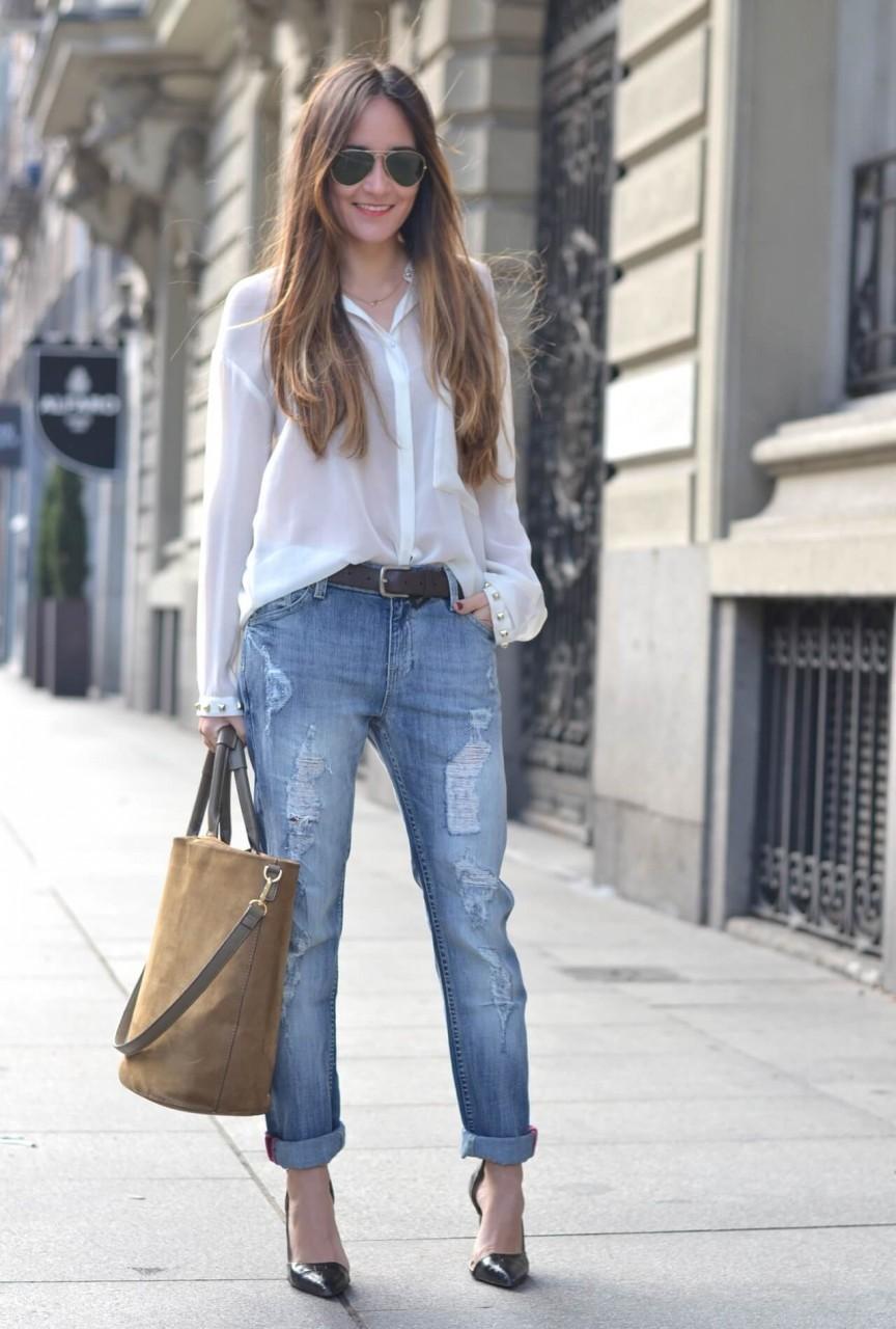 3 способа носить белую рубашку, которые сделают из вас законодательницу моды