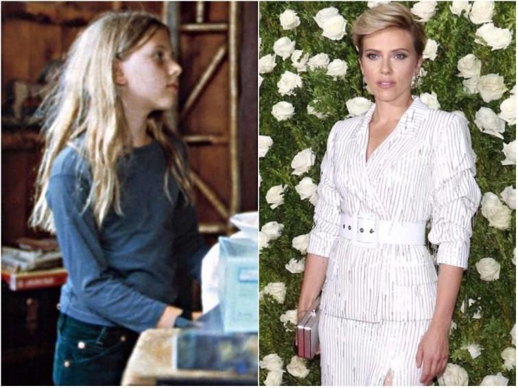 Скарлетт Йоханссон «Воришки», 1996 голливуд, девушки, знаменитости, кинематограф, кино, тогда и сейчас, фильм