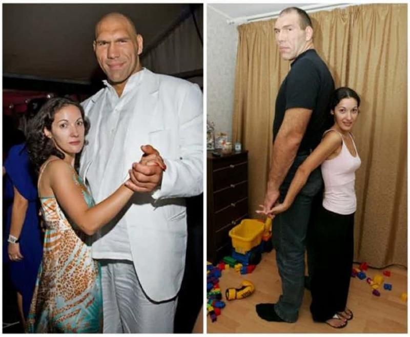 Пары, привлекающие внимание — спортсмены-дылды и их сексуальные крошки-жены