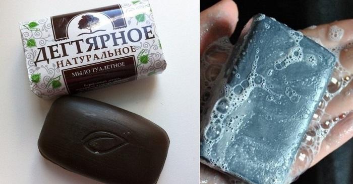 Дегтярное мыло: никакого пот…