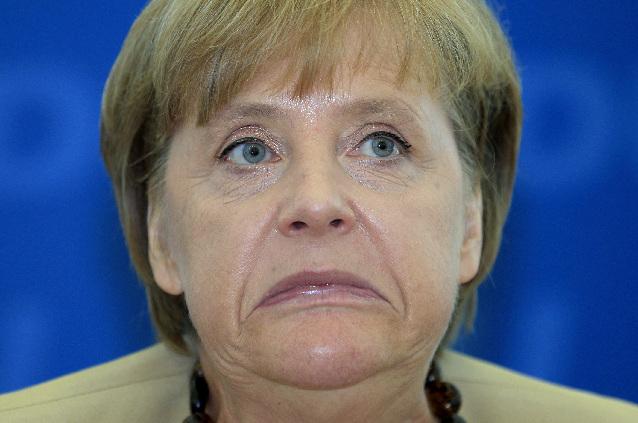 Ангела Меркель в ЯРОСТИ от речи Грегора Гизи в Бундестаге