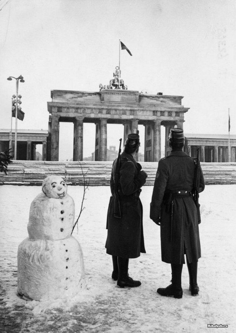 Западный Берлин, 25 декабря 1961 г. история, люди, мир, фото