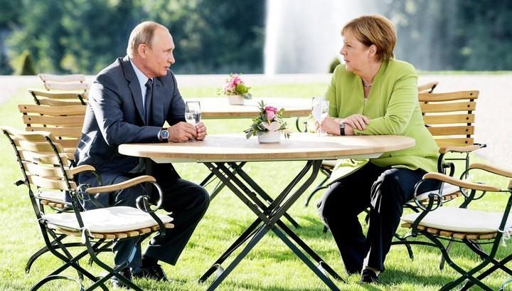 Переговоры Владимира Путина …