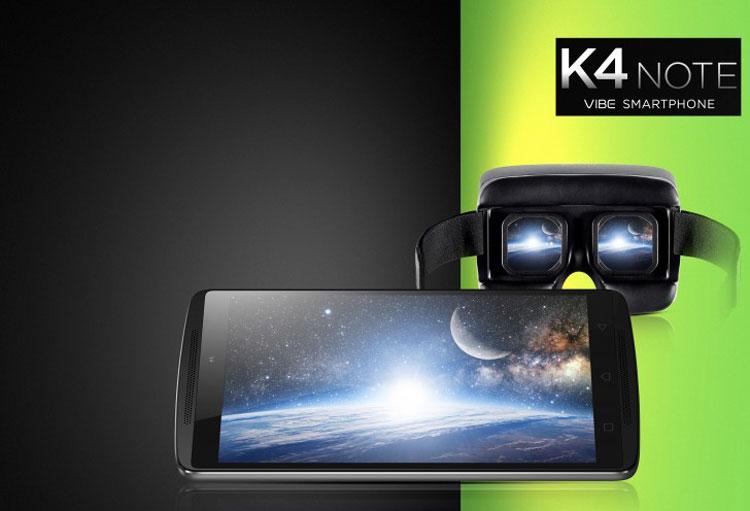 Lenovo продала полмиллиона планшетофонов Vibe K4 Note