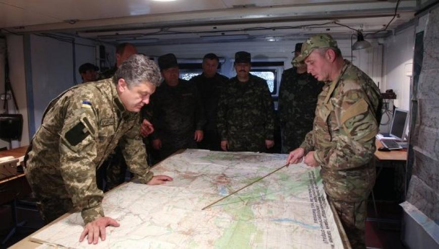 По Днепру или Збручу? – Порошенко гадает, где пройдет новая граница с Россией