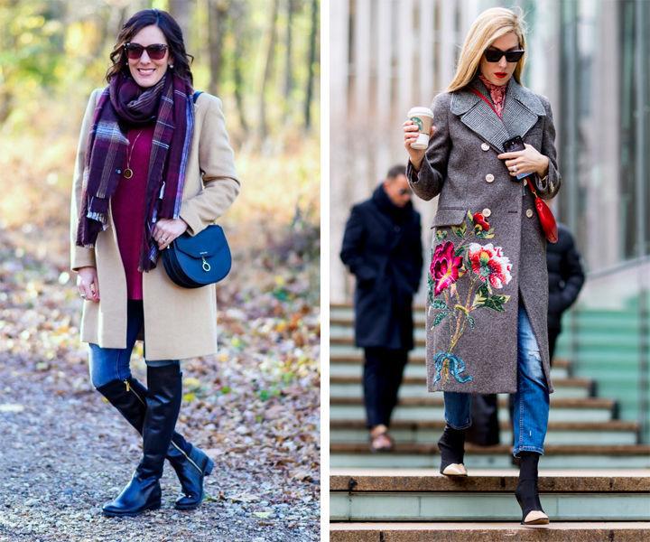 Пальто для женщины 40+: пять важных деталей