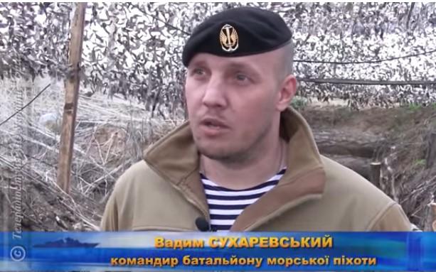 Украинский морпех: Да я крошил русских из двух пулемётов сразу