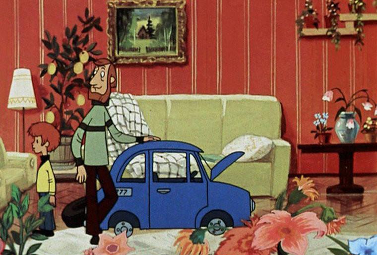 В каких интерьерах жили герои лучших мультфильмов СССР