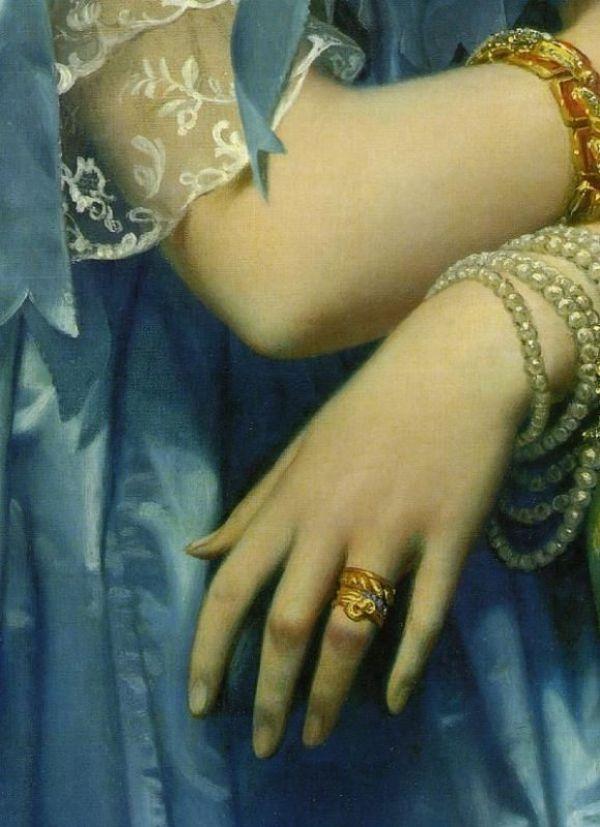 «Окружность мира - перстень драгоценный»: кольцо – символ в искусстве