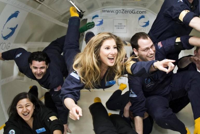 На майские в космос