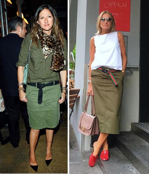 Модные женщины после 40-50 лет выбирают юбку-карандаш