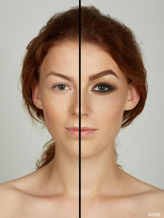 Как глаза при макияже сделать больше