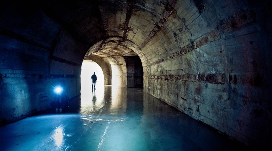 Убежище атомных подлодок, которое ждет ядерной войны