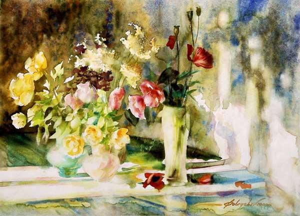 Радостное созерцание красоты — акварели художника Александра Бобрышева