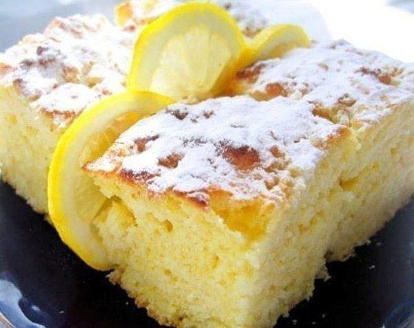 Захотелось чего-то очень вкусного? Легкие лимонные пирожные