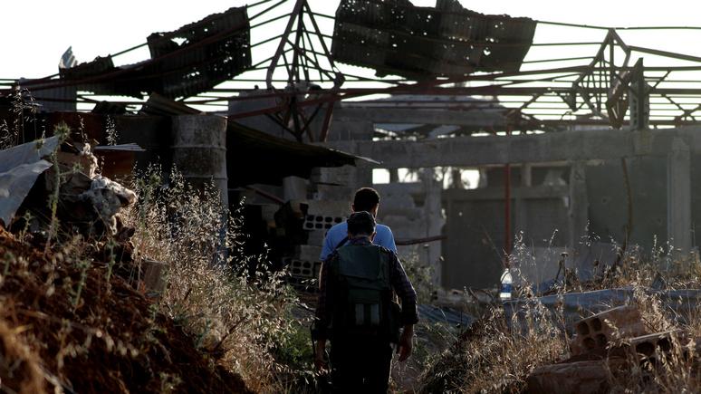 Сирия и Россия выбили террор…