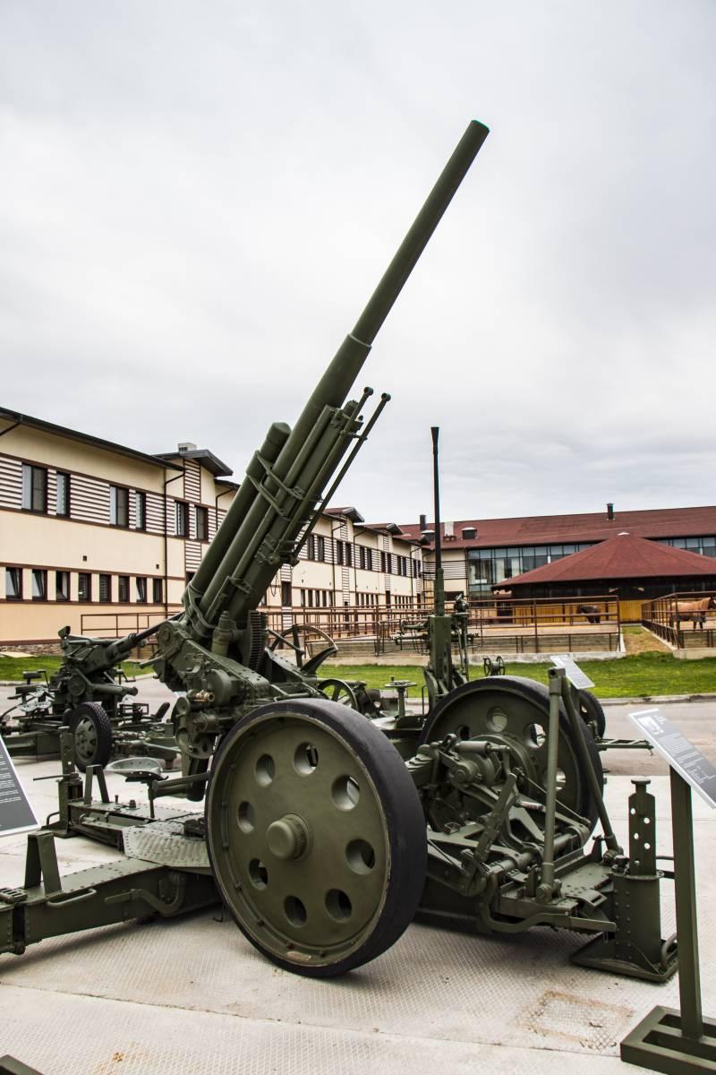 Рассказы об оружии. Зенитная пушка 3-К: обрусевшая немка