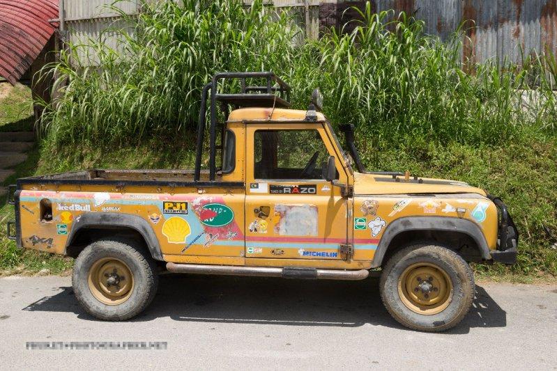 Дом престарелых Land Rover'ов в Малайзии