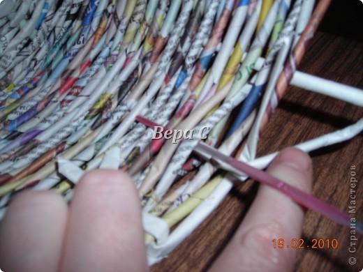 Мастер-класс Плетение: Мастер класс плетения из газеты для новичков Бумага газетная Отдых. Фото 15