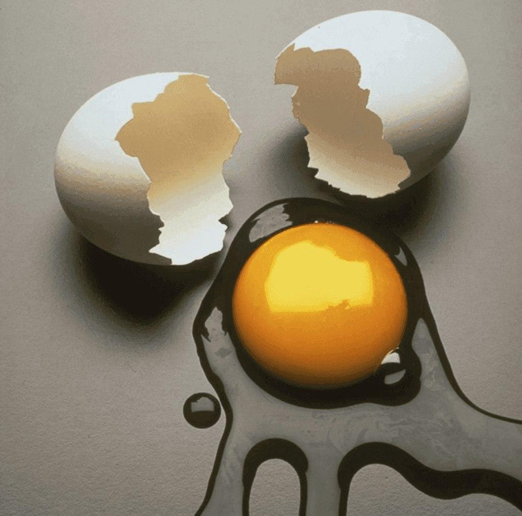 Выкатывание яйцом боли из родового древа