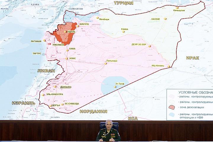 Минобороны: инструкторы США готовят в Сирии террористов-диверсантов