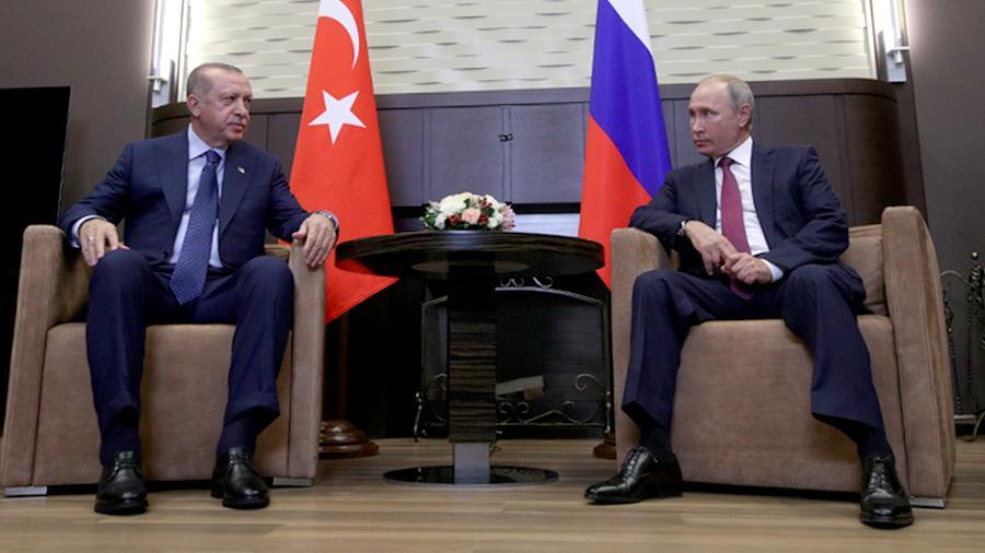 Эрдоган поделился с Путиным Идлибом
