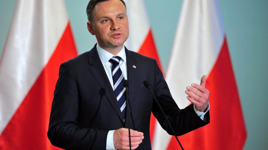 Президент Польши обратился к украинской нации