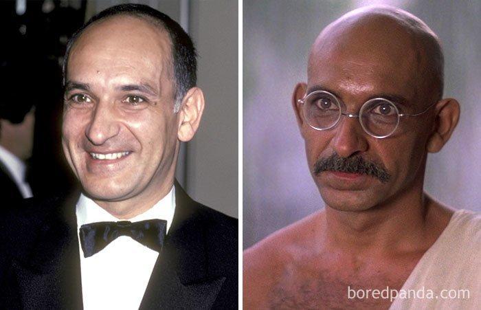 """Бен Кингсли, """"Ганди"""" актеры, до и после, интересное, кино, подборка, роли, роли актёров, фильмы"""