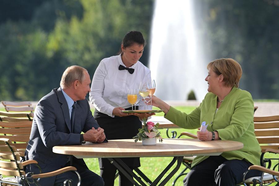 Меркель и Путин о «Северном …