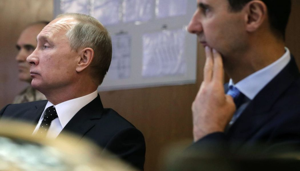 Кремль: Путин иАсад неразг…