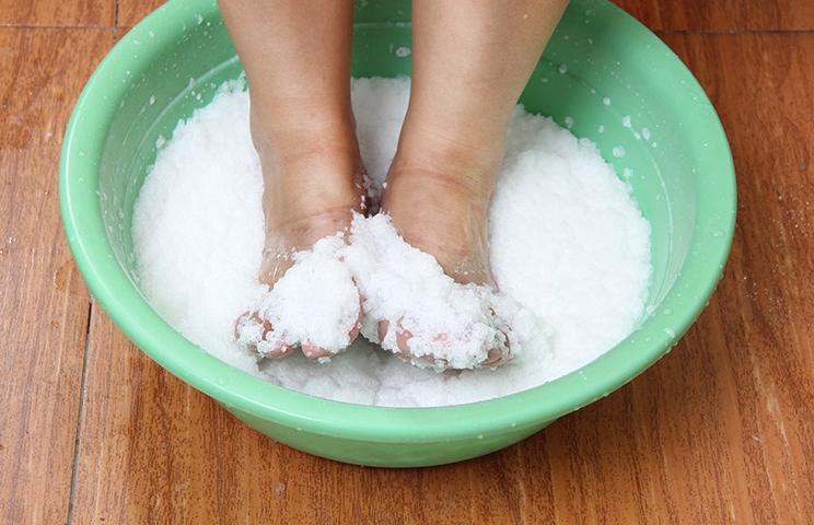 состав ноги в тазик поваренной солью связи этим производители