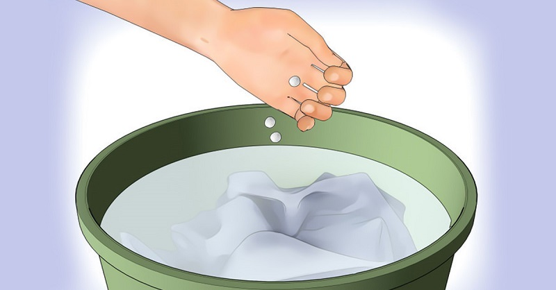 как стирать белые вещи чтобы они не желтели